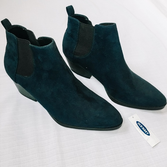 New Navy Ankle Booties